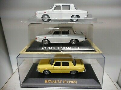 Renault 10 Major White Yellow Ixo 1:43