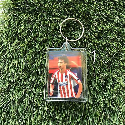 Atletico Madrid Football Handmade Keyring Key Chain Bag Tag Fan Gift