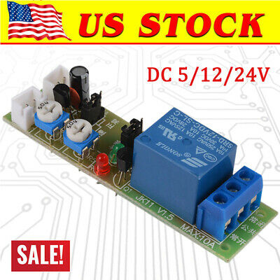 Adjustable Infinite Cycle DC5V 12V 24V Loop Delay Timer Relay Switch Turn ON OFF