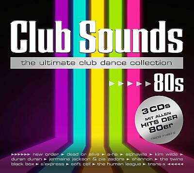 CLUB SOUNDS 80s ( The ultimate Club Dance Collection 2020 )  3 CD NEU & OVP