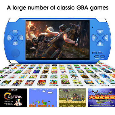 "8GB 4.3""Handheld PSP Game Console Player Built-in 1000 Games Portable Consoles"