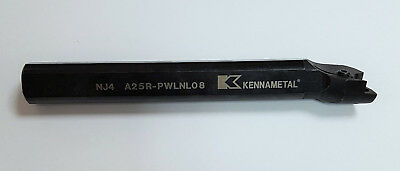 Kennametal Boring bar 95 Degree A25R - Pwlnl 08 for WNMG08 Indexable Inserts
