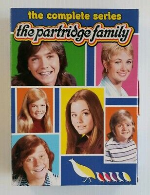 Partridge Family The Complete Series DVD 12-Disc Set Shirley Jones David Cassidy