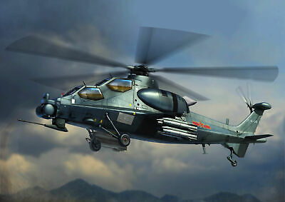 Hobbyboss 87253 - 1:72 Chinese Z-10 Attack Helicopter- Nuevo