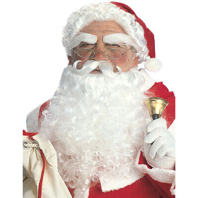 Elegant Santa Wig Beard Santa Claus Santa Fancy Dress Costume Accessories