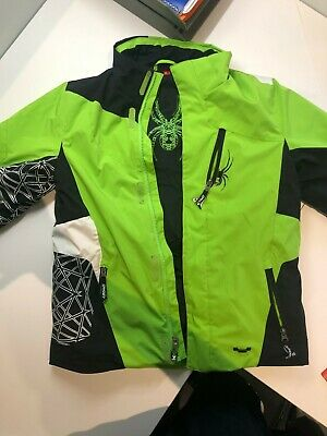 VARIETY WINTER COAT SKI BOARDER JACKET NEW BOYS SPYDER LEADER JACKET
