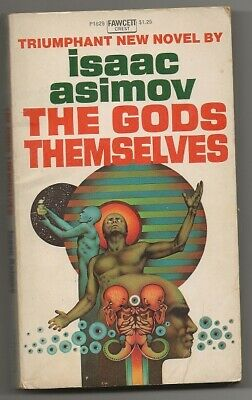ISAAC ASIMOV The Gods Themselves. 1st paperback 1973. Hugo and Nebula winner