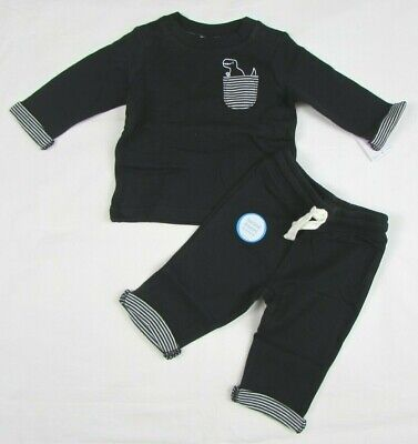 New Carter/'s Boys 2 Piece Mighty Tigers Top /& Navy Blue Pants Set NWT 12 18m 2T