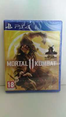 Mortal Kombat 11 PS4 Playstation 4 Game - New & Sealed Fast & Free Delivery