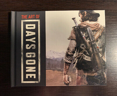 Days Gone Collectors Edition Mini Art Book New NO GAME