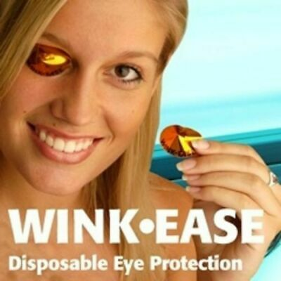 SALE WINK EASE DISPOSABLE UV SUNBED EYE PROTECTION GOGGLES  PACK of 50 PAIRS