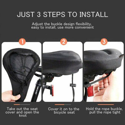 Wiljer Cushion Bicycle Seat Cover Affordable Cruiser With Foam Cushion Soft