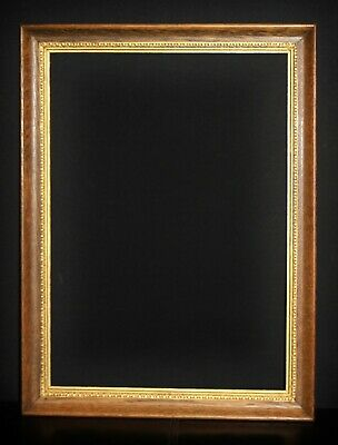 "Early C20th Arts & Crafts Oak & Gilt Picture Frame. Sight Size 20 1/2"" x 14 1/2"""