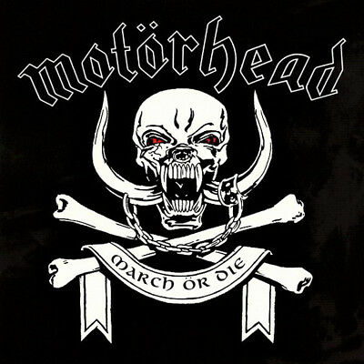 """MOTÖRHEAD """"MARCH OR DIE"""" CD  WTG Records – 48997 -NEW - SEALED"""