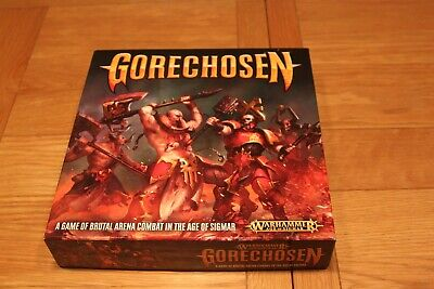 WARHAMMER AOS - GORECHOSEN - Board Game- COMPLETE with EXTRA FIGURE