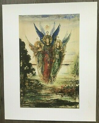 GUSTAVE MOREAU THRACIAN GIRL CARRYING HEAD ORPHEUS ON HIS LYRE ART PRINT 1249OMA