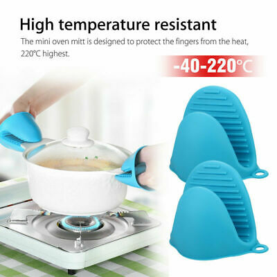 Silicone Hot Pot Holder Oven Gloves Mini Oven mitts 1 Pcs cooking pinch JVP