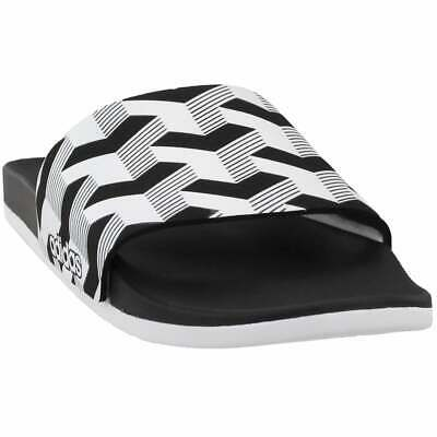 adidas Adilette CF+ Link GR  Casual   Sandals - Black - Mens
