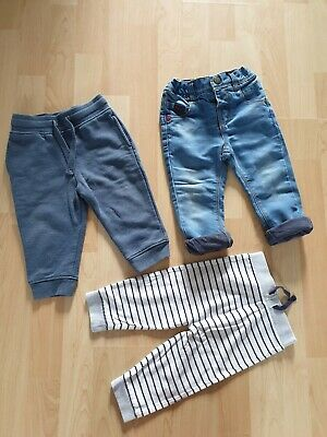 Next Baby Boys Trousers Jeans Joggers Size 9-12mth