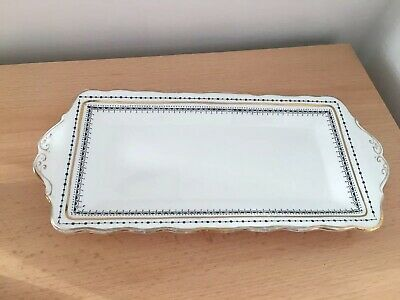 Royal Albert Clarence China Rectangle Sandwich Plate