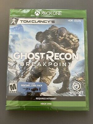 Ghost Recon Breakpoint (Xbox One, 2019)Brand New Sealed W/ SENTINEL CORP PACK