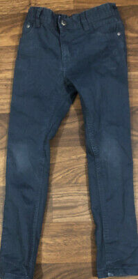 Boys Tu Blue Skinny Jeans Age 6 Good Condition