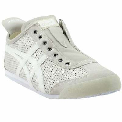 ASICS Onitsuka Tiger Mexico 66 Slip-On  Casual   Shoes - White - Mens