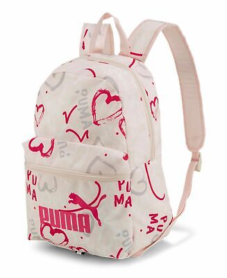 Small Backpack PUMA mochila Phase Small Backpack Rosewater - AOP