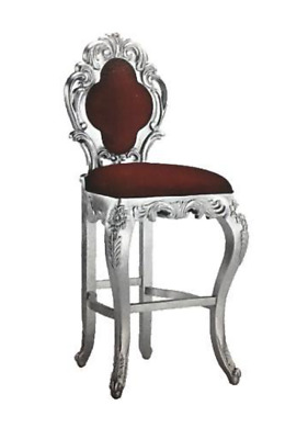 Stool bar Stool Royal Pads Chesterfield Velvet 1 Seat Antique Style Chair