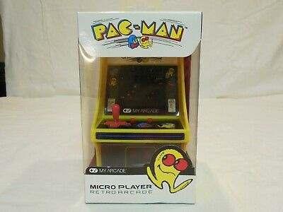 Pac-Man Electronic Mini Arcade Game, My Arcade Brand, Battery Operated, New