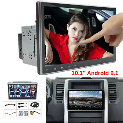 """2Din 10.1"""" Android 9.1 Touch Screen Car Stereo Radio GPS Wifi BT Mirror Link OBD"""