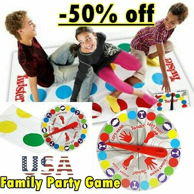 2019 Classic Funny Family Moves Board Game Children Friend Body Games -50% OFF