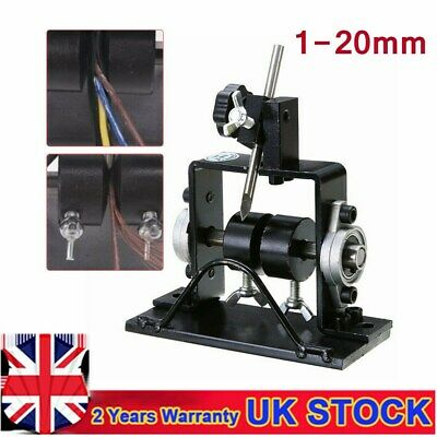 UK Manual Handle Used Wire Cable Stripping Machine Wire Stripper Scrap Copper
