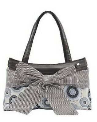 Thirty One Elite Fitted Purse Skirt In BIG BOW / DOTTED MEDALLION - Skirt Only