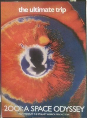 Poster 2001  Space Odyessy Mgm Poster 1999 Vintage Brand New