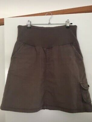 Ninth moon size 10 maternity pregnancy skirt and hanger