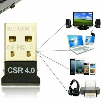 Bluetooth 4.0 USB 2.0 CSR 4.0 Dongle Adapter for PC LAPTOP WIN XP VISTA 7 8 10