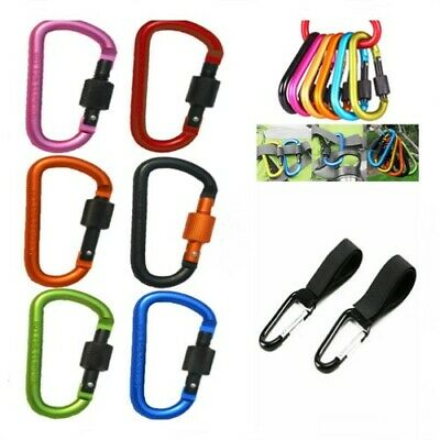 Buggy Clip Color Large Pram Pushchair Shopping Bag Hanging Hook Mummy Carry Clip