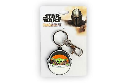 Star Wars: The Mandalorian The Child Keychain Pendant   Baby Yoda In Carriage