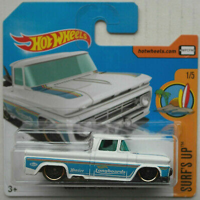 HW Shop Trucks  *RR* Hot Wheels 1:64 1962 Chevrolet PickUp Custom  Surfboard