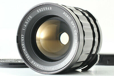 [Exc+++++] PENTAX SMC TAKUMAR 75MM F/4 MF LENS FOR PENTAX 6X7 67 FROM JAPAN #261