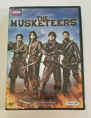 The Musketeers Series Season 1 One 3-Disc DVD Set NEW/SEALED