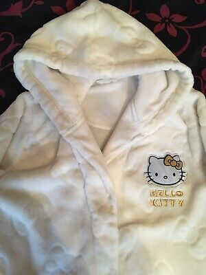 Marks And Spencer Hello Kitty Dressing Gown Age 11-12 Years