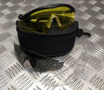 Genuine NATO Army Issue Revision Sawfly Ballistic Protective Glasses Black COMP