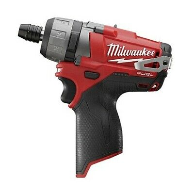 Milwaukee M12 FUEL 1/4 in. Hex 2 Speed Screwdriver (Bare Tool) MLW2402-20 New!