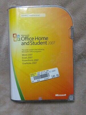 Microsoft Office Home And Student 2007 Genuine