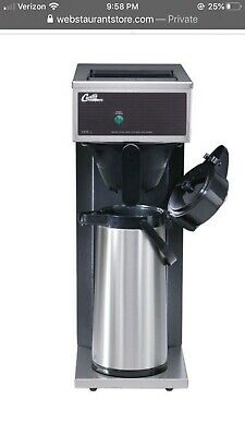 Single Airpot Pourover Brewer Curtis Coffee