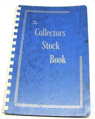Collectors Stock Book--Used Stamps From Around The World--Different Countries