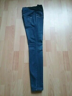 New Look Emilee Over The Bump Maternity Blue Jeans Size 8 Ex Cond