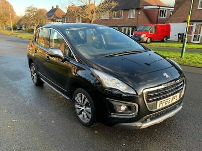 2014 Automatic Peugeot 3008-1 OWNER -£20 Tax-Full Serviced-1 Year MOT- HPI CLEAR
